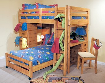 Bronco 7 Pc. Loft Bed