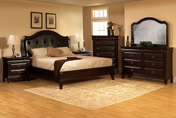 Modern Bedroom at Chicago Furniture Retailer The RoomPlace