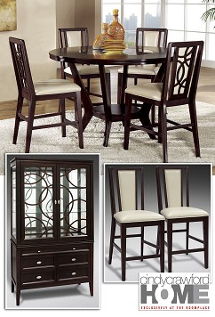 Dining  |  The Northfield Collection  |  9 Pc. Dining Room