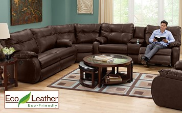 living room sofa sets - The Dodger II Collection  3 Pc. Sectional