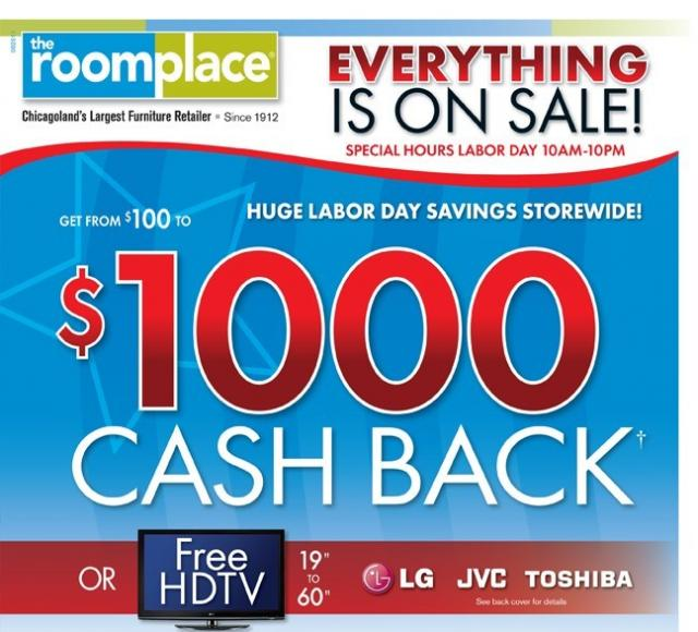 Labor Day Furniture Sales 2014: The RoomPlace Coupons For Labor Day