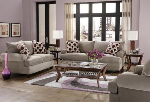 Mallory 3 Piece Living Room Set