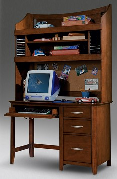 Harley Desk & Hutch