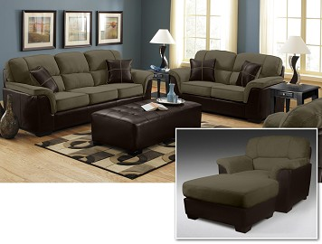 Hustle III 4 Piece Living Room Set
