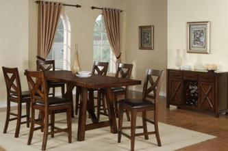 Country Family Dining Room Table