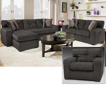 3 Piece Living Room Set at The RoomPlace – The RoomPlace