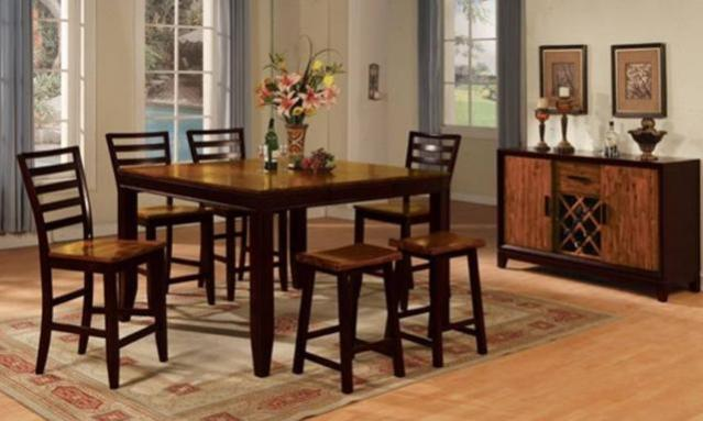 10 Piece Casual Dinette from The RoomPlace