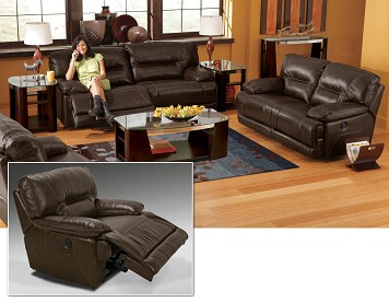 Marco 8 Piece Leather Living Room