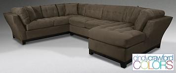 3 Piece Living Room Set - Metropolis by Cindy Crawford