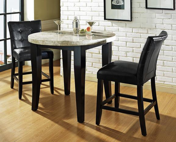 Spice up your kitchen or dining room with pub style for Pub style kitchen table