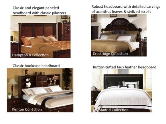 Headboard and Stylish Bedrooms From The RoomPlace Furniture Stores in Chicago
