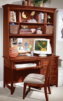 The Spirit Collection Desk and Hutch