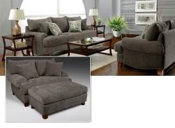 Zora Gray Clothg Living Room