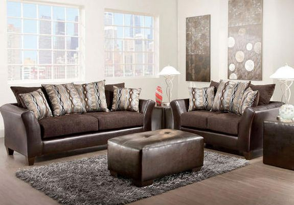 Bronze Living Room Set