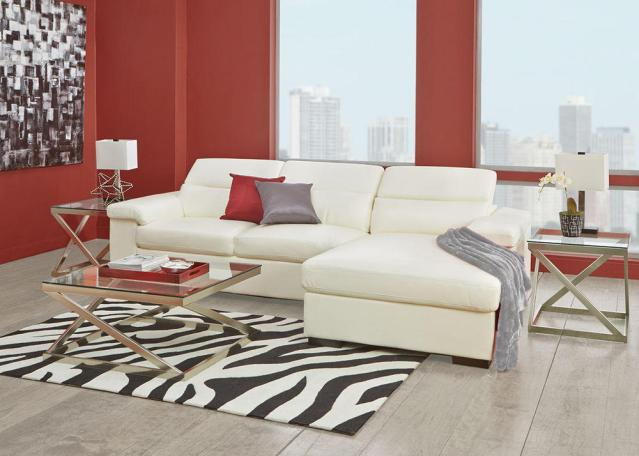 11 fashionable sectional sofas for small living rooms for Sleek sofas small spaces