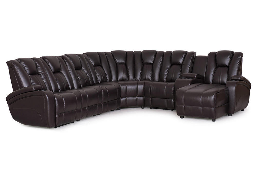 The Button Activated Recliner On Each Sectional Means That Every Lounger  Gets The Seating Experience They Want. No Arguments!