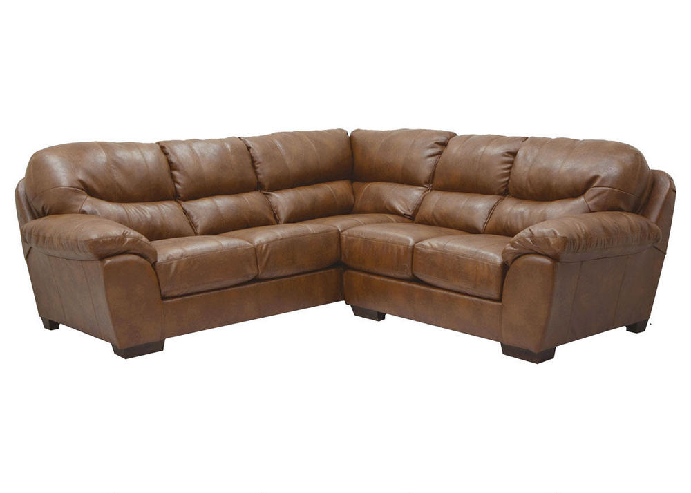 sectional brown