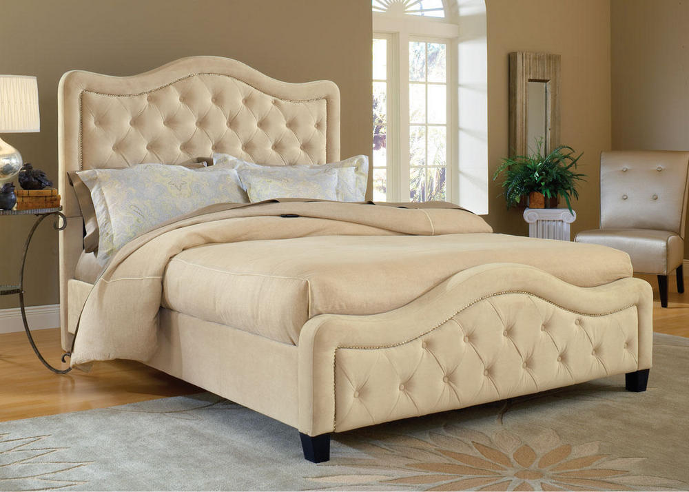 2015 trend upholstered beds the roomplace chicago the for Room place furniture