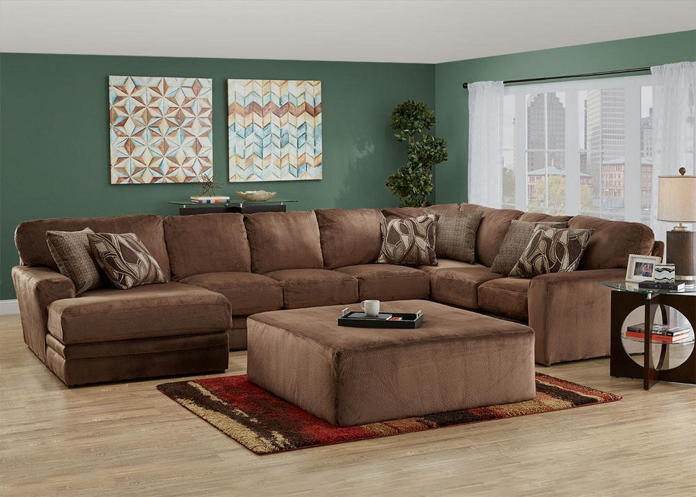 Creative seating and sleeping options for the holidays for Sectional sofas room place