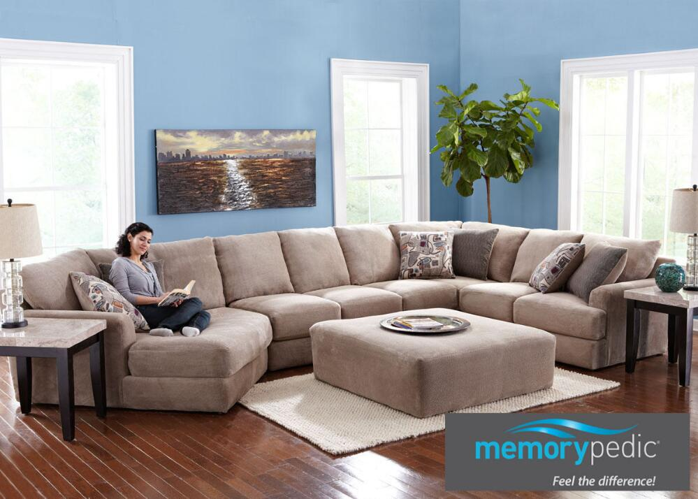 sectional with chaise and cuddler mix it up 3 new ways to style cushions on a sectional 7878