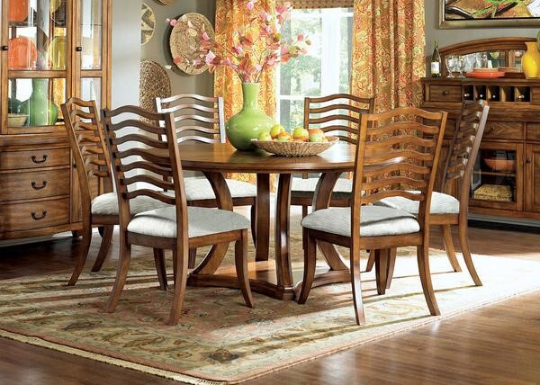 Ashburn Oak Dining Set