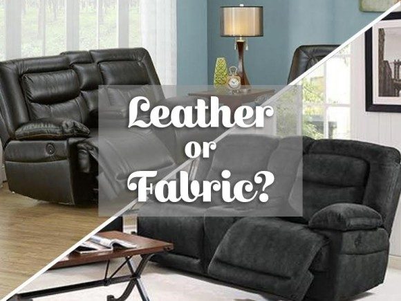 Leather or fabric