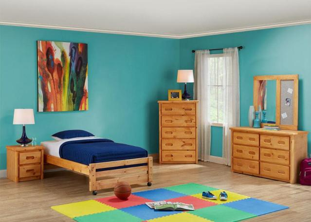 Furnishing a kid's bedroom