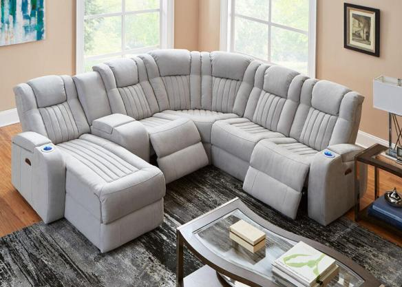 tech furniture. Like The Matrix Living Room Set, Tesla Fabric Power Sectional Combines  Functionality, Style, And Modern Technology. Its Easy Touch Button System Allows Tech Furniture