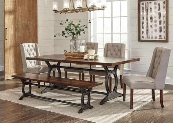 Tacoma 6 Piece Dinette Set From The RoomPlace