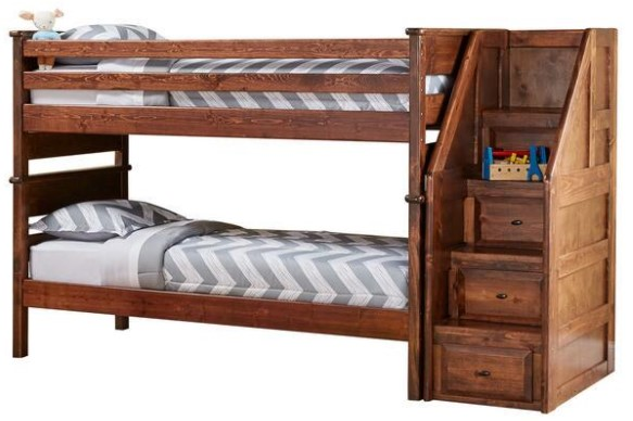 How to design a kid friendly yet stylish bedroom the for Catalina bunk bed reviews