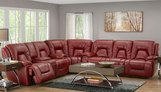 Lotus Salsa 3 Pc. Power Sectional From The RoomPlace