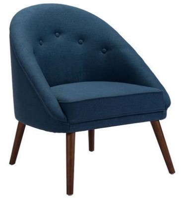 Carter Blue Chair From The RoomPlace