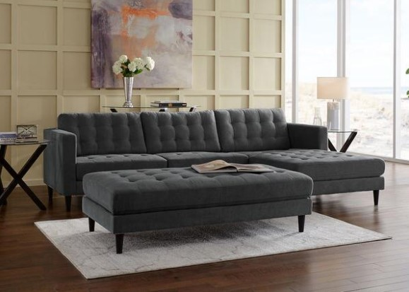 Featured Image: Sydney Charcoal 2 Pc. Sectional From The RoomPlace