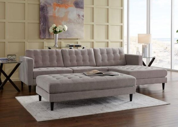 Image: Sydney Gray 2 Piece Sectional From The RoomPlace