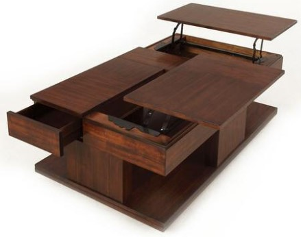 Le Mans Lift Top Cocktail Table from The RoomPlace
