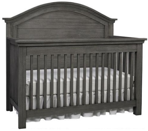 Lucca Weathered Gray Full Panel Convertible Crib by Dolce Babi from The RoomPlace