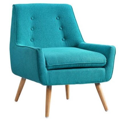 Trelis Blue Accent Chair from The RoomPlace