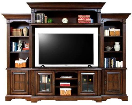 Lenox 5 Pc. Entertainment Wall Unit from The RoomPlace
