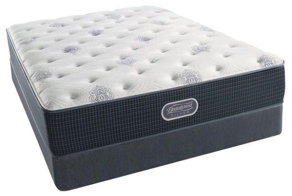 Simmons Beautyrest Silver Firm Sasha Mattress Set from The RoomPlace