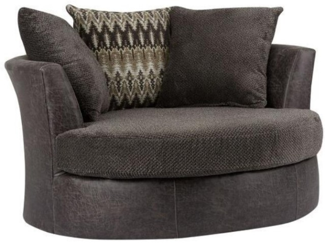 Wesley Swivel Chair from The RoomPlace