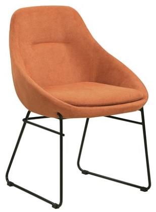 Image: Dash Persimmon Dining Chair by Scott Living from The RoomPlace
