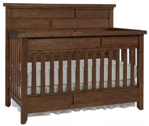 Grado Farmhouse Pine Convertible Crib by Dolce Babi from The RoomPlace