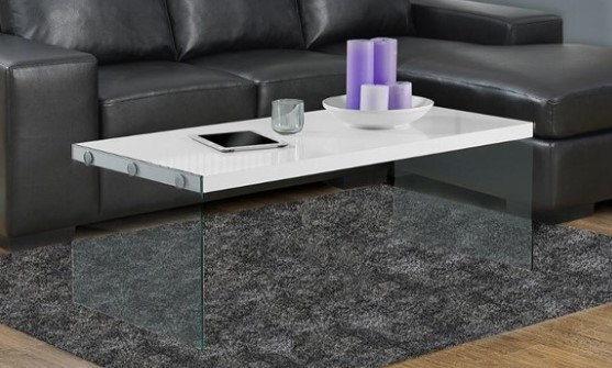 Parker White Cocktail Table from The RoomPlace