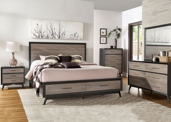 Reegan 7 Pc. Queen Bedroom from The RoomPlace