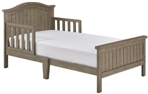 Delmar Vintage Gray Toddler Bed from The RoomPlace