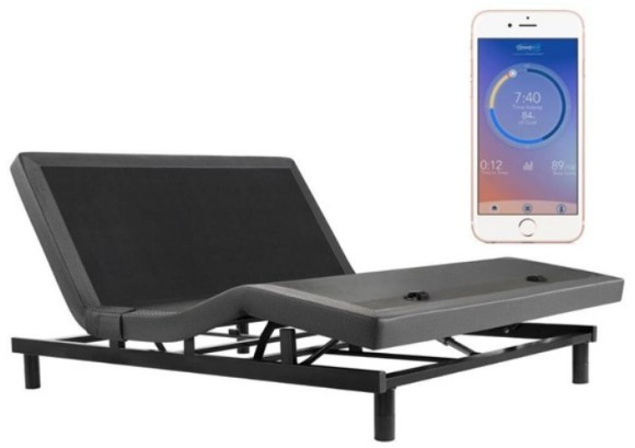 Simmons Beautyrest SmartMotion Base Powered by Sleeptracker from The RoomPlace