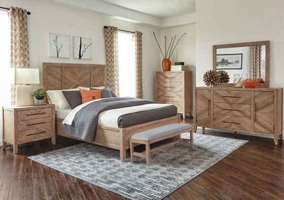 Auburn 8 Pc. Queen Bedroom by Scott Living from The RoomPlace