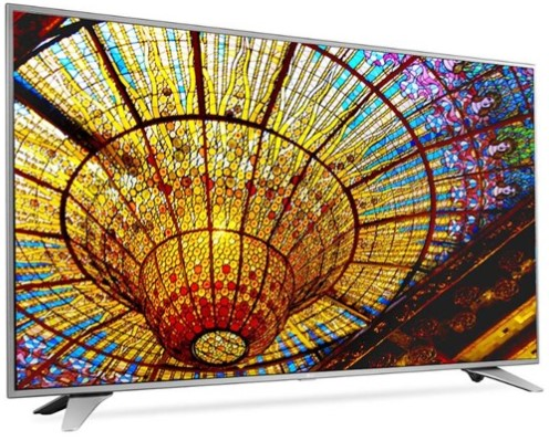 """LG 55"""" 4K UHD Smart LED TV w/ webOS 3.0 Plus 10' HDMI Cable from The RoomPlace"""