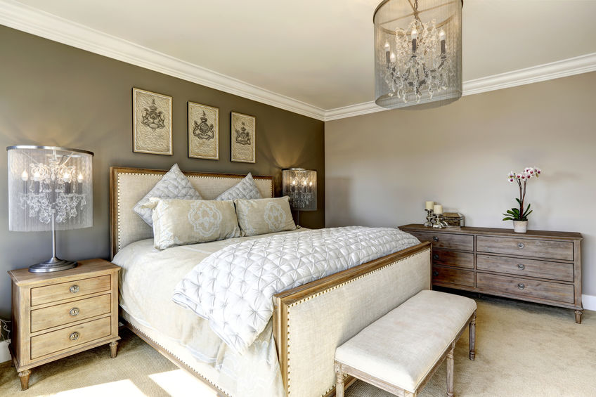 Luxury bedroom interor